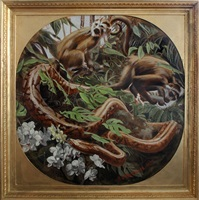 [hippolyte-alexandre michallon (1849-1930)] the jungle by mark beard